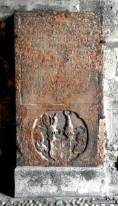 Grabplatte Erasmus von Gera 1657